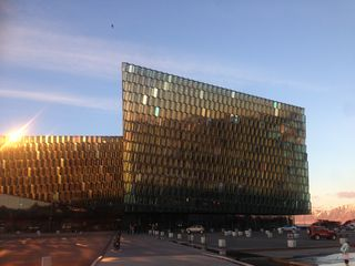 Harpa ready for Sonar